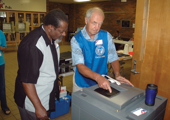 Low voter turnout for primary runoff