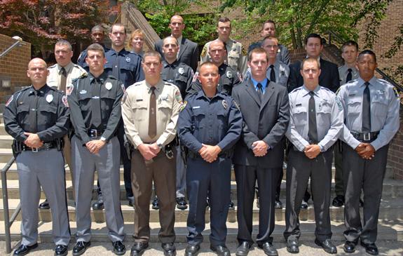 Basic Law Enforcement class graduates