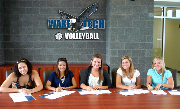 Driver Signs With Wake Tech