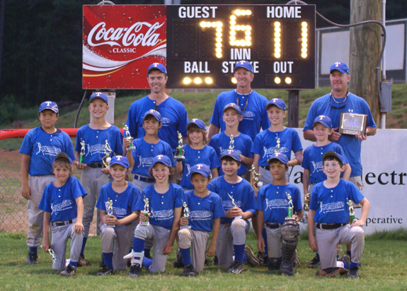 YOUNGSVILLE MINOR LEAGUE CHAMPIONS