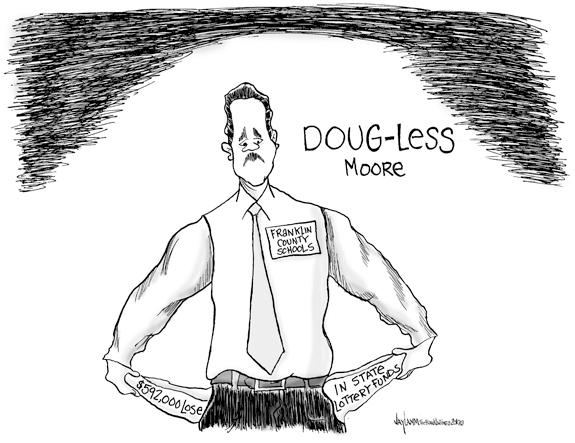 Editorial Cartoon: Moore or Less