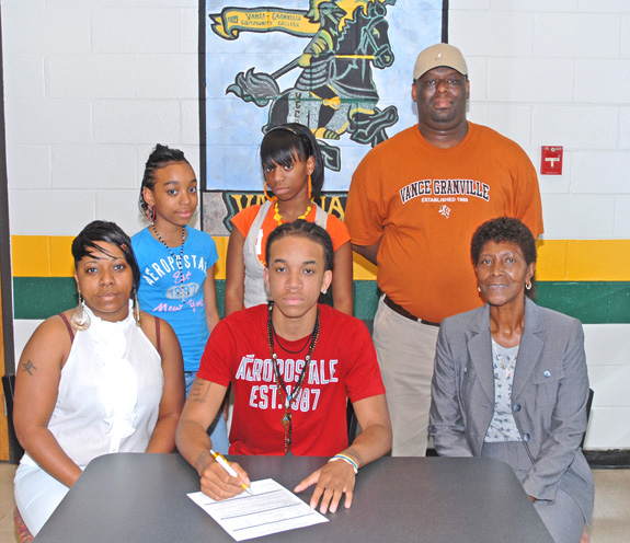 Vance-Granville inks Bunn High's Bagby