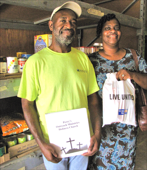 Food drive helps stock pantries