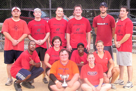 FRANKLIN COUNTY PARKS AND REC TOURNAMENT KICKBALL CHAMPS