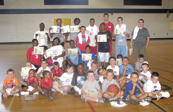 BASKETBALL CAMPERS