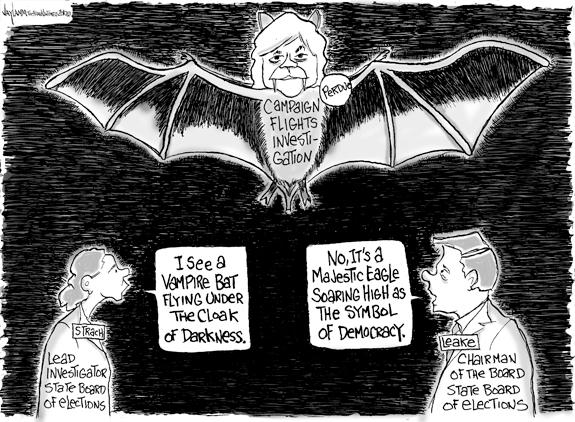 Editorial Cartoon: Twilight's Last Gleaming