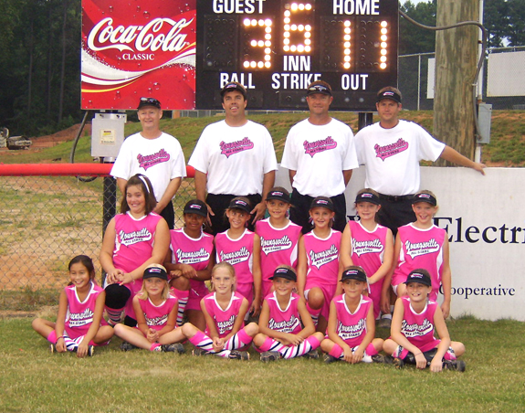 OUTSTANDING EFFORT BY THE YOUNGSVILLE ALL-STARS