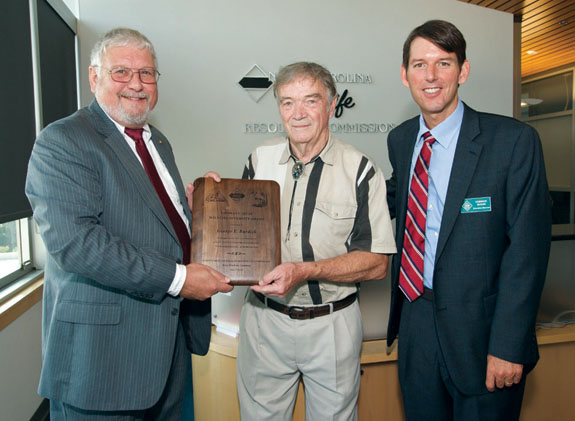 Burdick honored with wildlife award