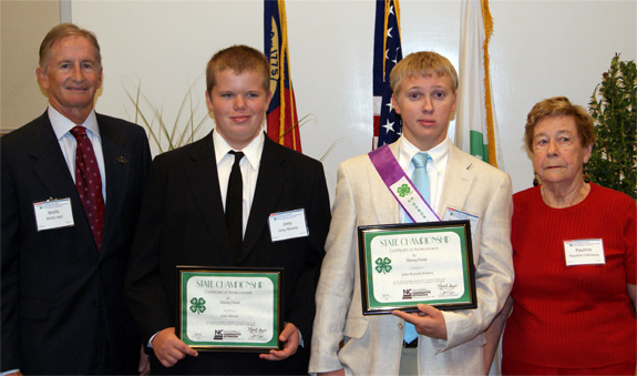 Moore honored at 4-H awards luncheon