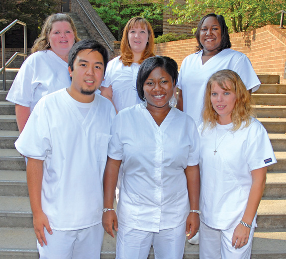 Vance-Granville Community College Practical Nursing graduates receive pins