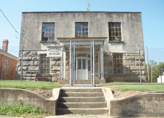 Arts Council chair proposes partnership in jail renovation