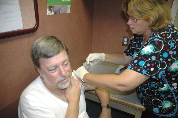No shortage of flu shots expected this year