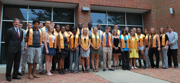 Louisburg College inducts new members into its honor society