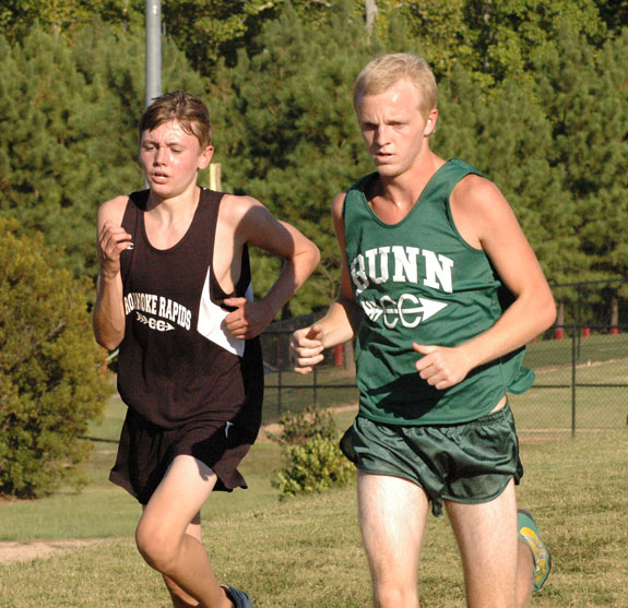 Perry Sets Pace