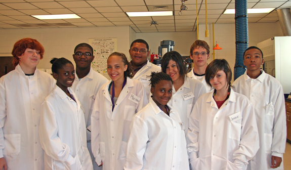 VGCC students learn about Biotech Opportunities at NCCU
