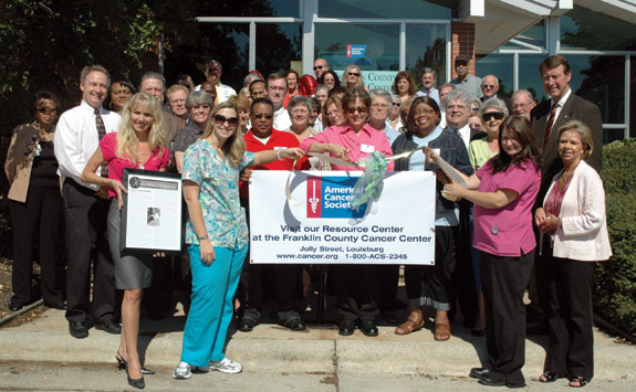 Dr. McLaurin opens cancer resource center