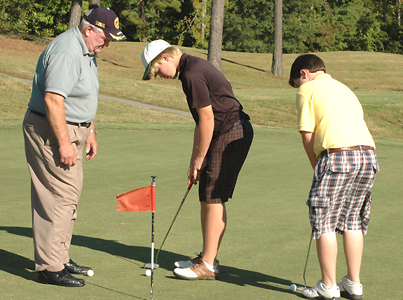 Winstead Helping Golf Grow