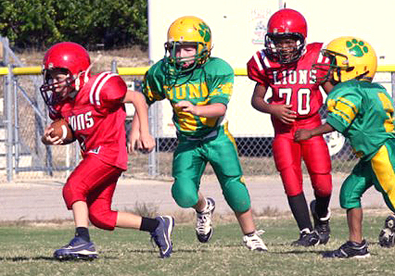 Lions' Mighty Mites drop games
