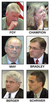 LOCAL RACES<br>Candidates answer questions on issues concerning Franklin County