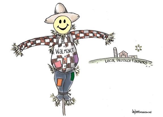 Editorial Cartoon: Field of Beans