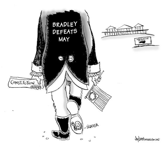 Editorial Cartoon: May Be...May Be Not