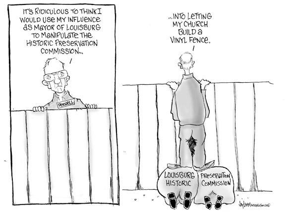 Editorial Cartoon: Paranoid Pernell