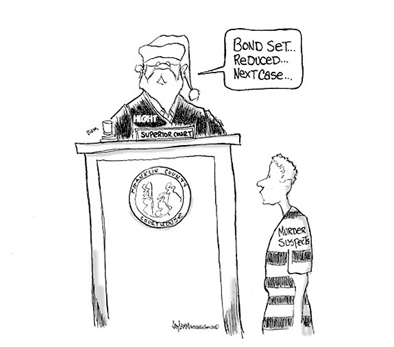 Editorial Cartoon: Benched