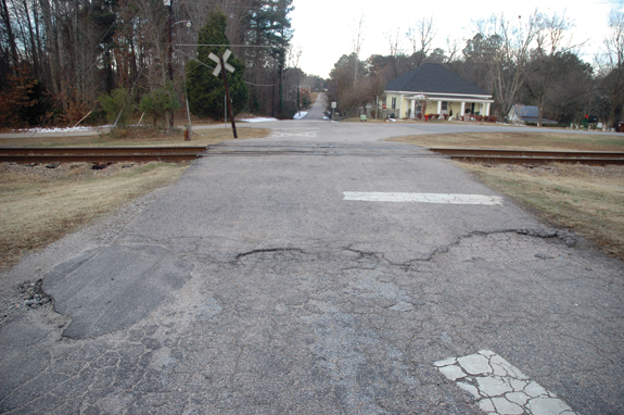 Youngsville delays road repair expenditures