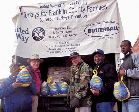 Turkey donation highlights UW Food Drive