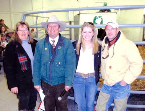 Heifer donated for Speed Endowment