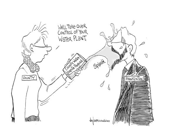 Editorial Cartoon: All Wet