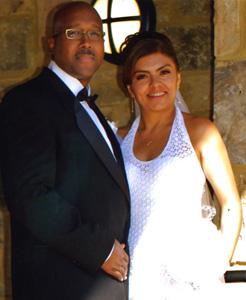 Lopez, Harris wed