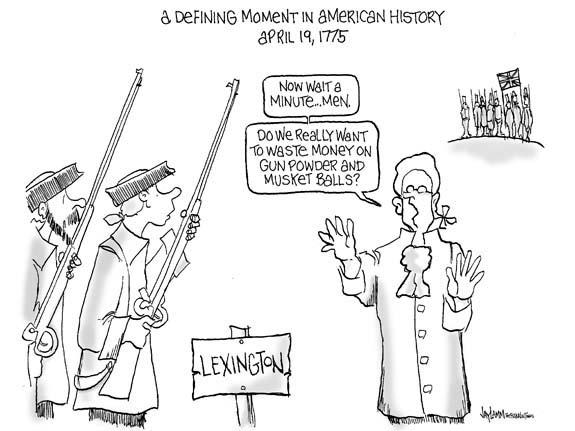 Editorial Cartoon: The Shock Hearld Around The World