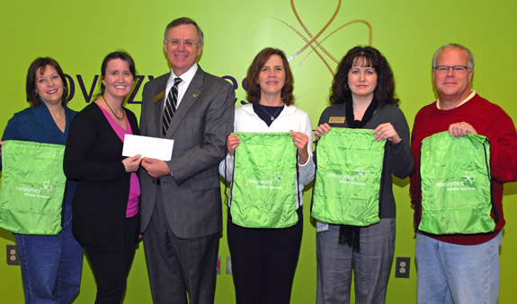 Novozymes co-sponsors area math competition with VGCC