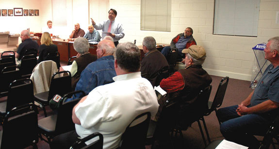 Info session tells citizens water dispute not dried up