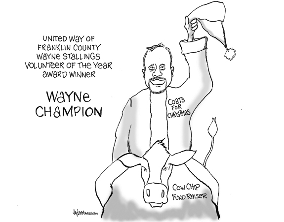 Editorial Cartoon: Champion Spark Plug