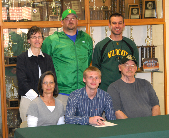 BHS' Gourley to play at Methodist