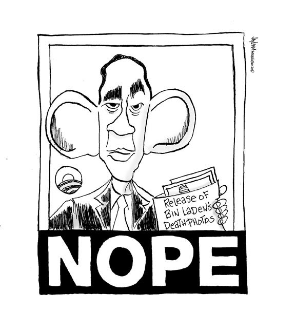 Editorial Cartoon: Bush League