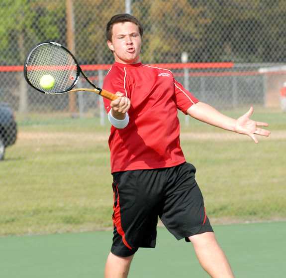 Rams defeated in 2-A tennis playoffs
