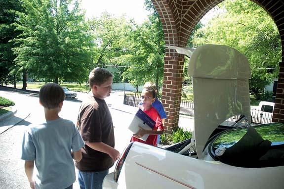 Cub Scouts aid tornado victims