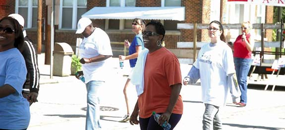 Franklinton starts getting fit