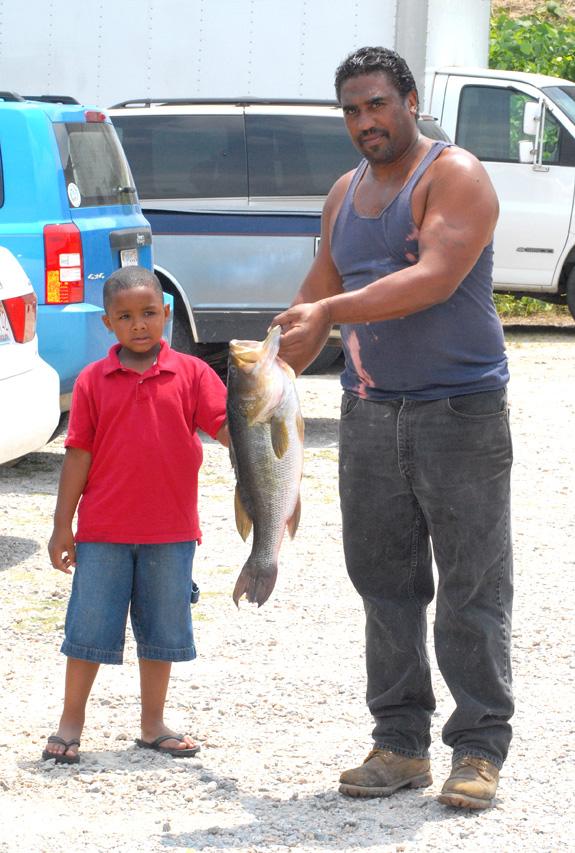 A DYNAMIC FISHING DUO