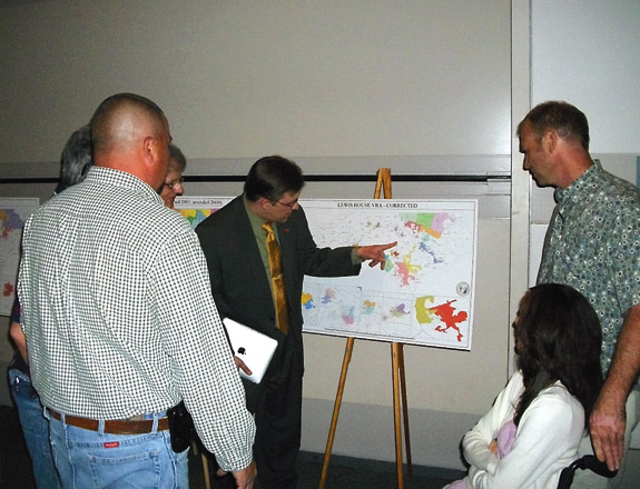County leaders speak against new state redistricting maps at hearing