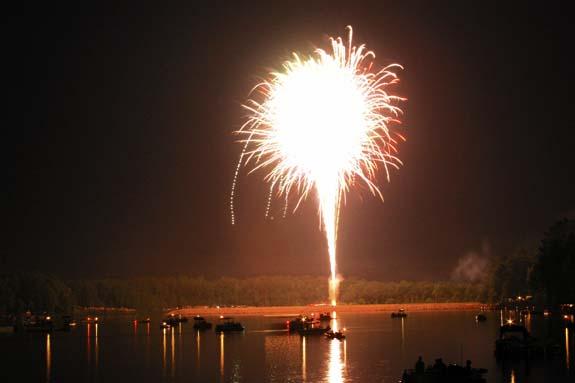 Mother Nature delays fireworks