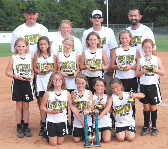 BUNN ALL-STARS -- 8-UNDER DISTRICT CHAMPIONS