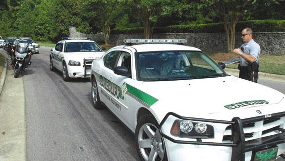 Officers shut down speeders