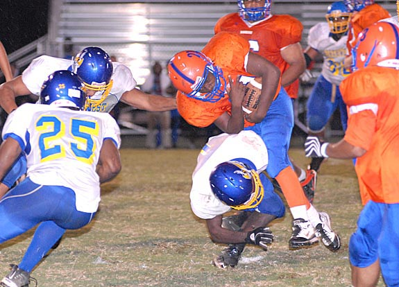 Football action heats up Friday in NCC
