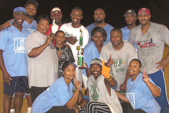 FCPR ADULT SOFTBALL TOURNAMENT CHAMPIONS