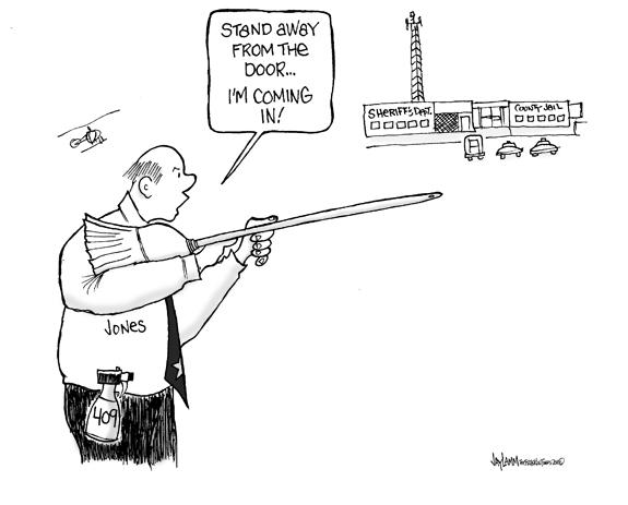 Editorial Cartoon: Mr. Clean