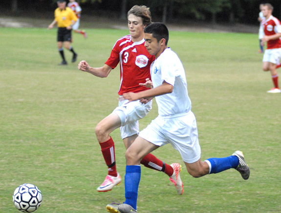 Red Rams surge past Louisburg, 5-1